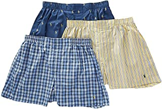 Men's 3-Packaged Woven Boxers