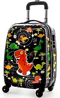 【Amazon限定ブランド】バオバブの願い キャリーケース 子供 スーツケース かわいい キャラクター 静音キャスター 機内持込み 四輪 軽量 ロック搭載 旅行 小型 SSサイズ 2泊 動物柄