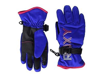 Roxy Kids Freshfield Snow Gloves (Big Kids) (Mazarine Blue) Ski Gloves