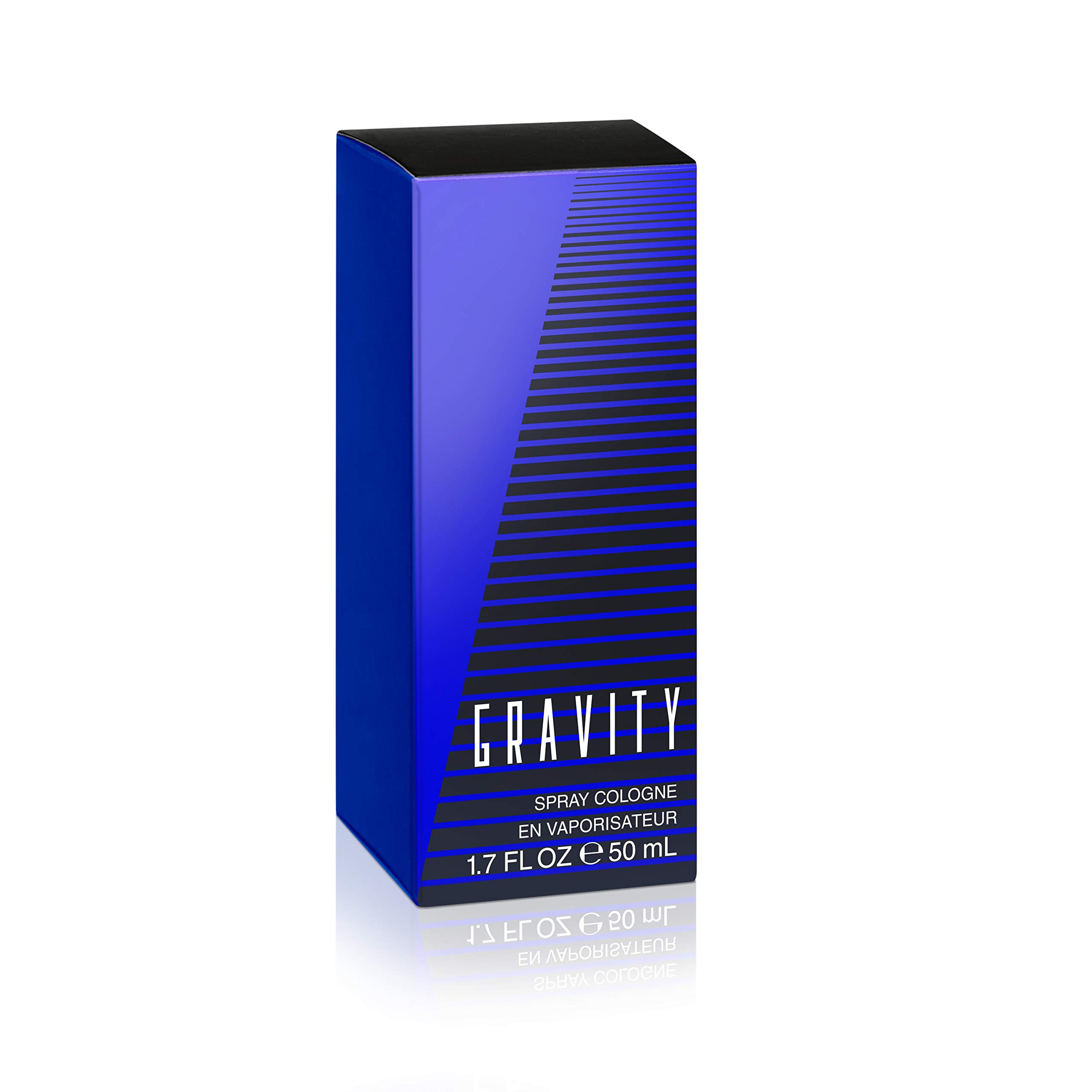 Coty Classics Perfume Gravity 1.7 Fluid Ounce Men's Fragrance in a Classic, Appealing Scent, Great Gift for Cologne or Perfume Lovers