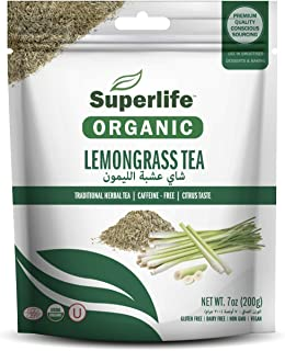 Superlife Organic Lemongrass Tea 200 gm