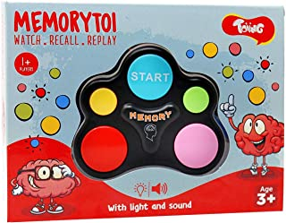 Toiing Memorytoi – Electronic Memory Game, Great Travel Toy for Kids & Teaches Persistence (5 Year Old and Above)