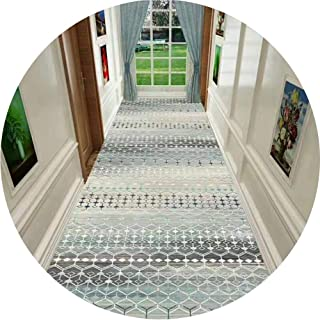 HAIPENG Long Hallway Runner Rug with Non Slip Back, Soft Front Door Mat Ideal for Entryway Hall Staircase Kitchen Carpet C...
