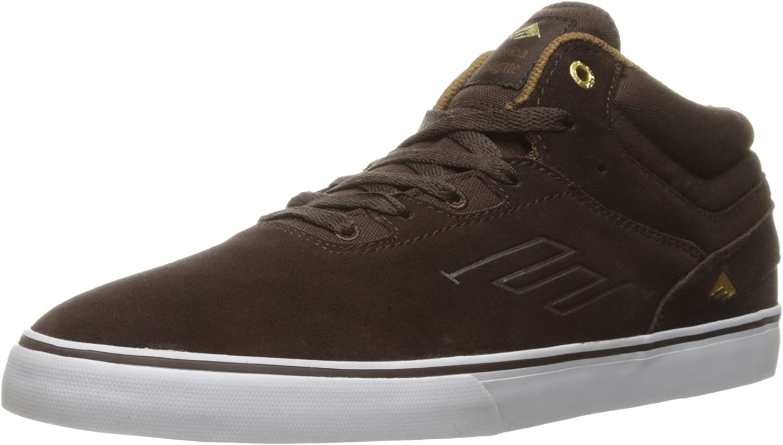 Emerica Herren Westgate Mid Vulc Dark braun Skateboardschuhe braun B01DNN1X7O  Flagship-Store