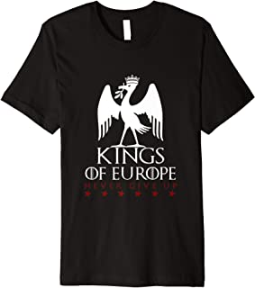 Kings of Europe Never Give Up 2019 Liverpool Premium T-Shirt