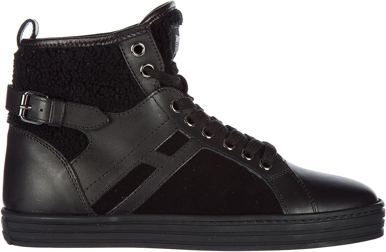 Hogan Rebel Women R182 high top Sneakers black