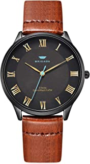 Men's Watches Cool Black Blue Business Casual Waterproof Quartz Analog Wrist Watch for Men Swiss Brand