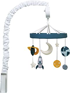 Trend Lab Galaxy, Stars, Moon, Planet Musical Crib Mobile, Baby Mobile, Nursery