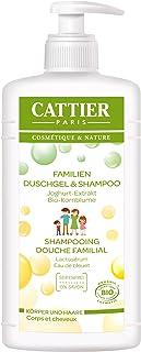 Gel de ducha familia Cattier y champú, 1er Pack (1 x 500 ml)