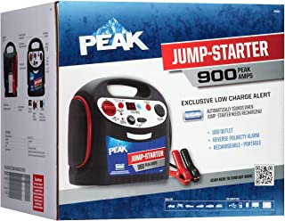 PEAK Portable Jump Starter, 900 AMP