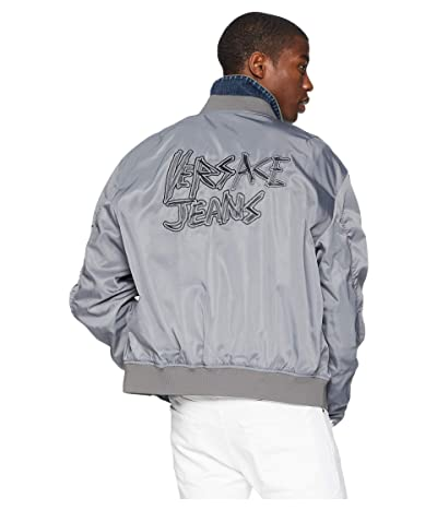 Versace Jeans Couture Logo Bomber Jacket (Grey) Men