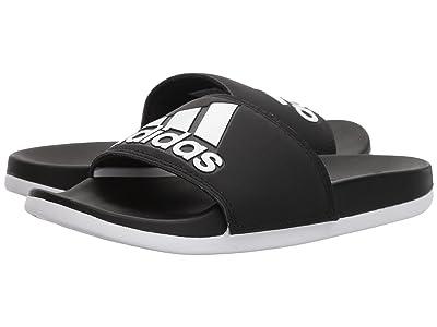 adidas Adilette Comfort (Black/White/Black) Women