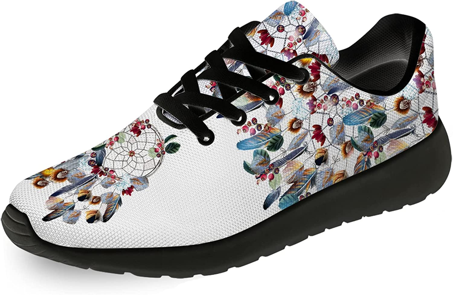 Max 58% OFF Uminder Men's Women's Boho Shoes Print Lace-up Comfort 3D Directly managed store Ultra