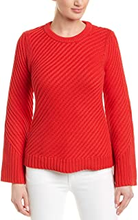 Womens Lauraly Sweater, L, Red