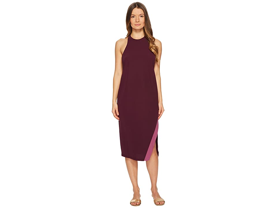 FLAGPOLE Macy Dress (Port/Orchid) Women
