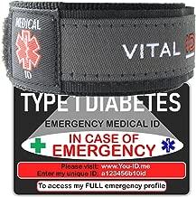 Medical Alert Bracelet ID Card Set & SMS Alert Service Option. Over 50 Medical Condition s eg Dementia Alzheimer's Epilepsy Fibromyalgia