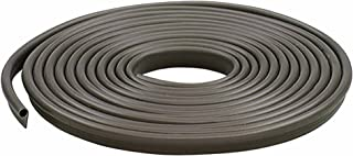 M-D Building Products, Brown 78196 Vinyl Gasket Weatherstrip, 1/2-Inch-by-17 Feet, 1/2' x 17'