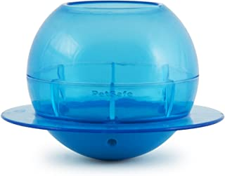 PetSafe Funkitty Fishbowl Treat Toy, Interactive Food Dispenser, Activity Snack Ball for Cats of All Ages