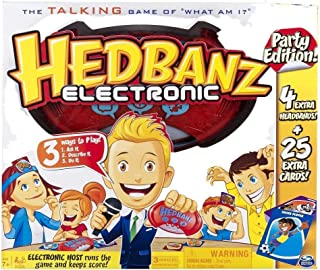 Hedbanz Electronic Party Edition Talking Game Toys R US Exclusive
