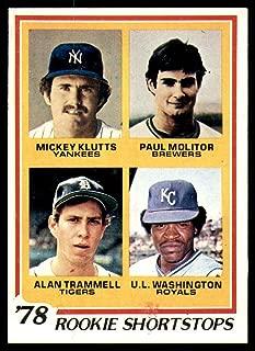 Best 1978 paul molitor card Reviews