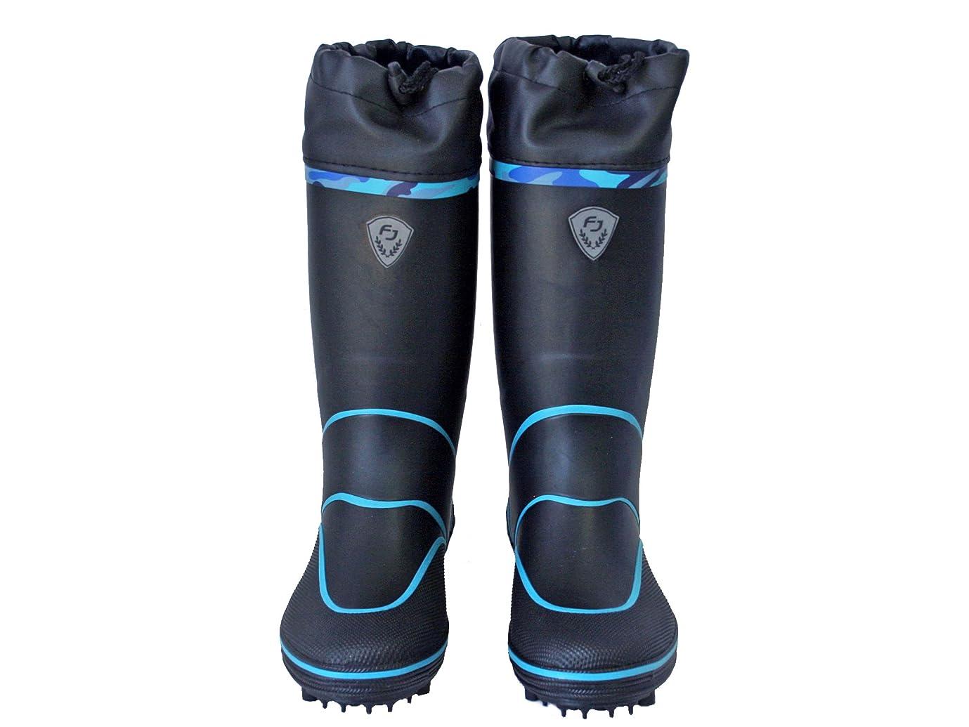 バウンドマニア自分のSP-1094 スパイクブーツ ブラック ファインジャパン フィッシングブーツ 釣り用長靴
