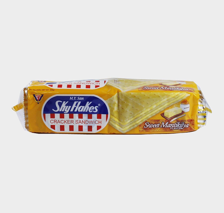 M.Y. San Cracker Ranking TOP16 Sandwich 5 ☆ popular Mantikilya Cream Sweet Butter