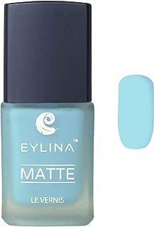 EYLINA Matte Nail Polish, Light Blue, 9ml