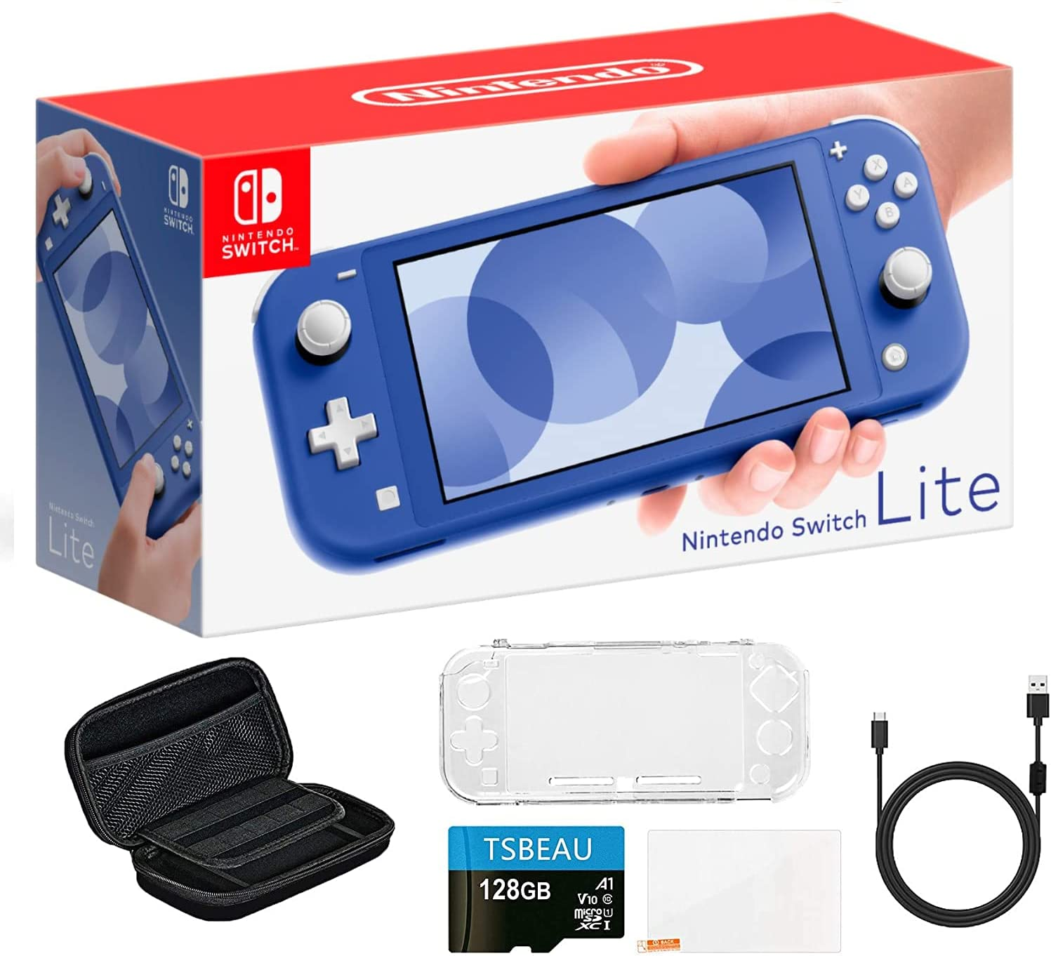 """Newest Nintendo Switch Lite Max 47% OFF Game D Rapid rise LCD Touchscreen 5.5"""" Console"""