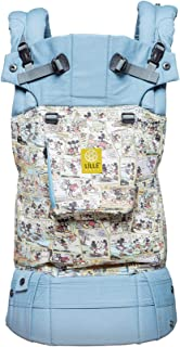 Disney Baby Collection Complete Original Ergonomic Baby & Child Carrier by LÍLLÉbaby, Sunday Funnies - 100% Cotton