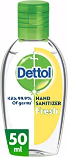 Dettol Spring Fresh Anti-Bacterial Instant Hand Sanitizer 50 ml