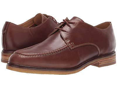 Clarks Clarkdale Apron (Dark Tan Leather) Men