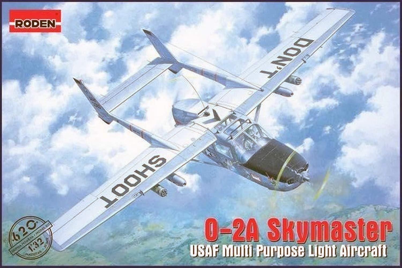Roden Model kit 1 32 02A Skymaster USAF Multi Purpose Light Aircraft  620