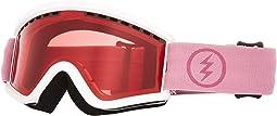 Matte White/Mauve/Pink