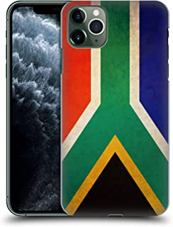 Head Case Designs South Africa South African Vintage Flags Hard Back Case Compatible for iPhone 11 Pro Max