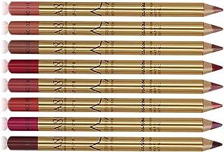 8本 リップライナー リップペン 防水 滑らか 長持ち リップライナーペン 8色リップペンシル セット 優れる発色力 艶消し口紅筆 リップスティック 唇用美容ペン リップライナーペンシル 美容ペン メイクアップセット