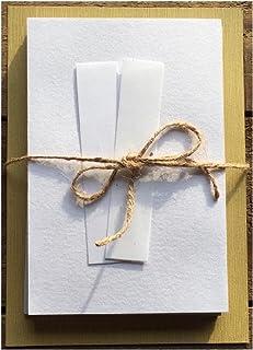 自分でつくる御朱印帳キット 小サイズ 白(ホワイト) 1個セット