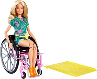 Barbie Fashionistas Doll #165, with Wheelchair & Long...