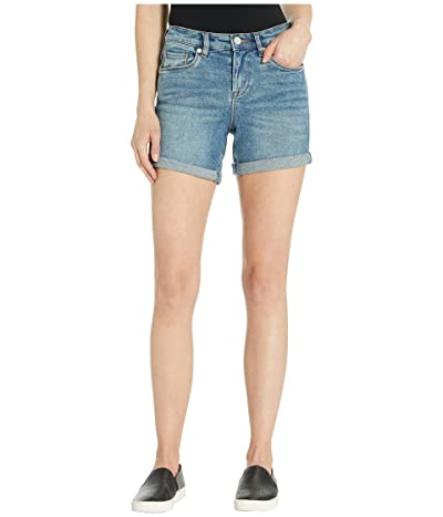 Blank NYC High-Rise Roll Up Shorts in Star Bursts (Star Bursts) Women