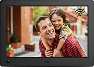 NIX Advance 8 Inch Digital Photo Frame X08G - 16:10 IPS Display, Motion Sensor, Photo/Video Player -  Play Your Photos and Video in the Same Slideshow