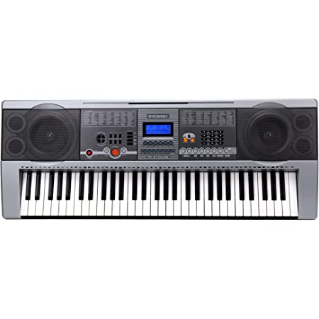 McGrey PK-6110 - Teclado USB con 61 teclas, USB/MP3-Player, soporte para notas
