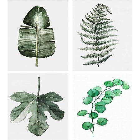 Fototapete Tropisches Schwarzweiss Muster