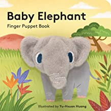 Baby Elephant: Finger Puppet Book: (Finger Puppet Book for Toddlers and Babies, Baby Books for First Year, Animal Finger P...