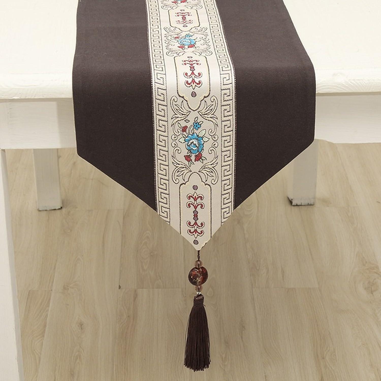 Jacquard Tischdecken Tischfahne Kaffeedecke Tuch Handtuch Muster Streifen elegant Ausgezeichnet HighEnd ( Size   33260cm )