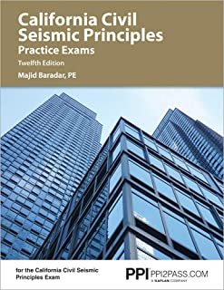 California Civil Seismic Principles Practice Exams