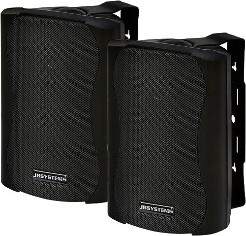 JB Systems K30 Paire de Mini Enceintes Noir