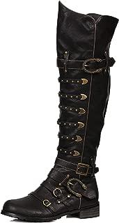 Mens Wilbur Black Pirate Boots