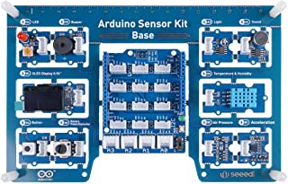 seeed studio Arduino Sensor Kit All-in-one Starter Kit Come with 10 Sensors and 10 Lessons.