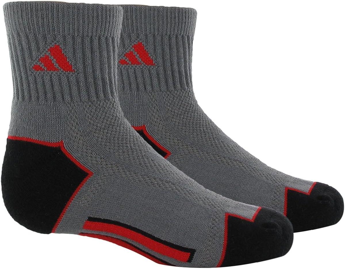 adidas Boy's Climacool II Quarter Sock