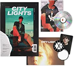 EXO BAEKHYUN 1st Mini Album - City Lights [ NIGHT ver. ] CD + Photobook + Lyrics Booklet + Folded Poster(On pack) + Photocard + FREE GIFT / K-POP Sealed