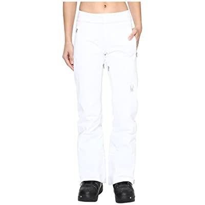 Spyder The Traveler Tailored Fit Pant (White 1) Women